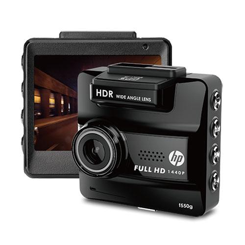 กล้องติดหน้ารถ HP รุ่น f550g